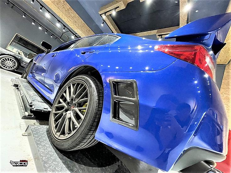 Speical Edition S207 Style Vacuum Carbon Bumper Vent