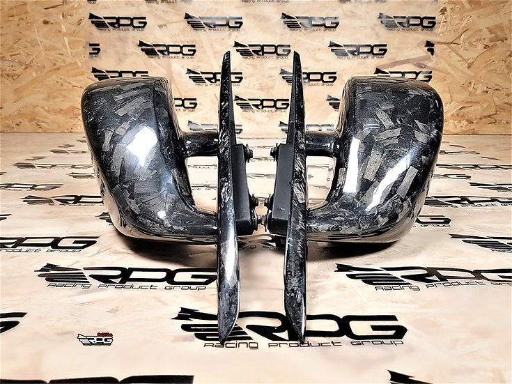 WRC GR/GV Chassis Forged Carbon Mirrors