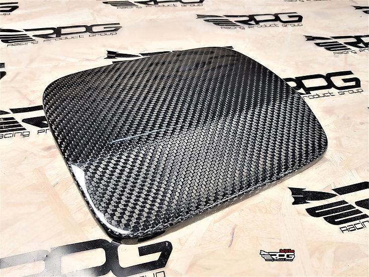 GV Chassis Widebody Carbon Fiber Fuel Door Cover