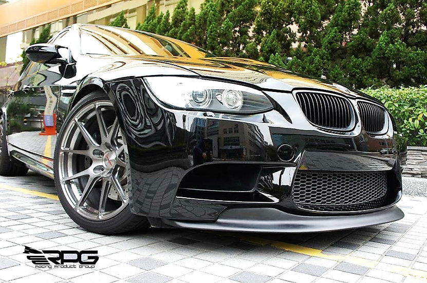 E90 E92 GTS GT3 M Motorsport FRP Front Lip with Mounting Tap