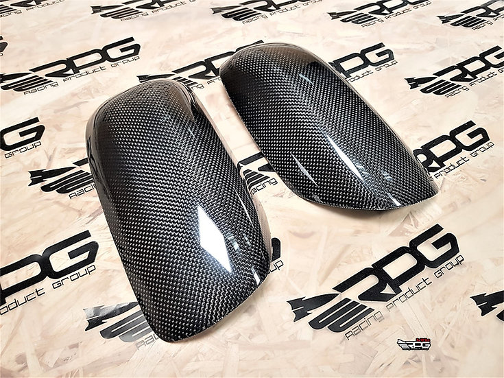 Carbon Fiber Mirror Cover Set