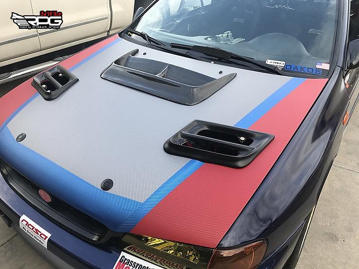 Prodrive WRC S5 Style Hood Vent