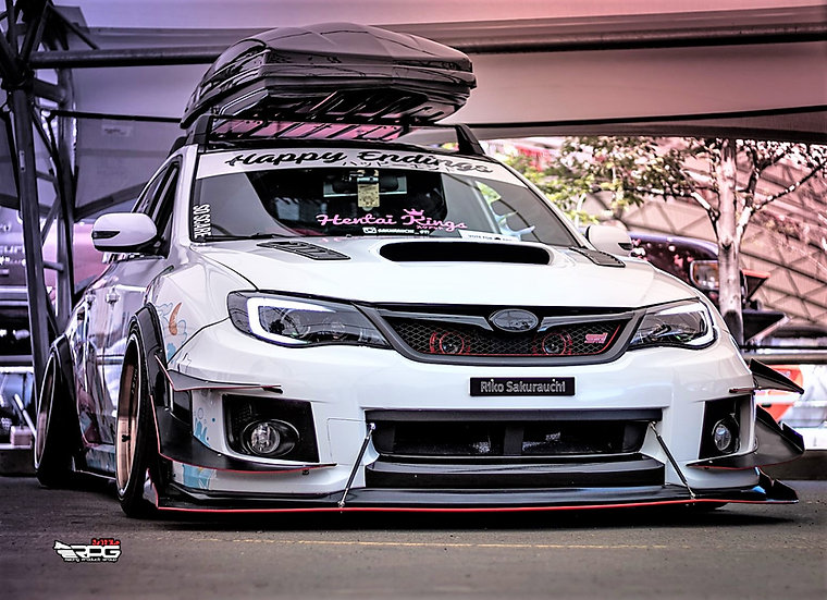 GVB GVF WRX STi 50MM Fender Flares Wide Arche Kit