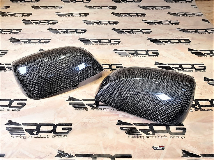 VA Chassis Vacuum Non-Signal Carbon Fiber Mirror Cover Set