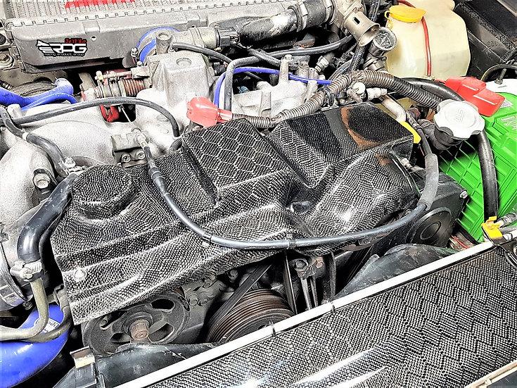 Road Rage RR GC/GF EJ20 Carbon Alternator Belt Cover