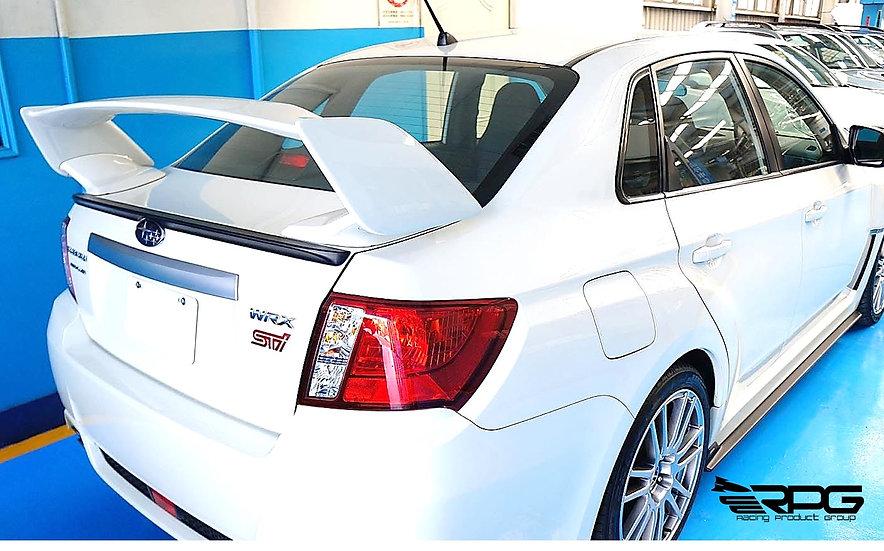 JDM STI Style Sedan FRP Trunk Spoiler