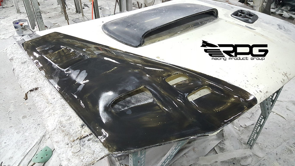 Extreme Competition Hood Scoop Air Duct