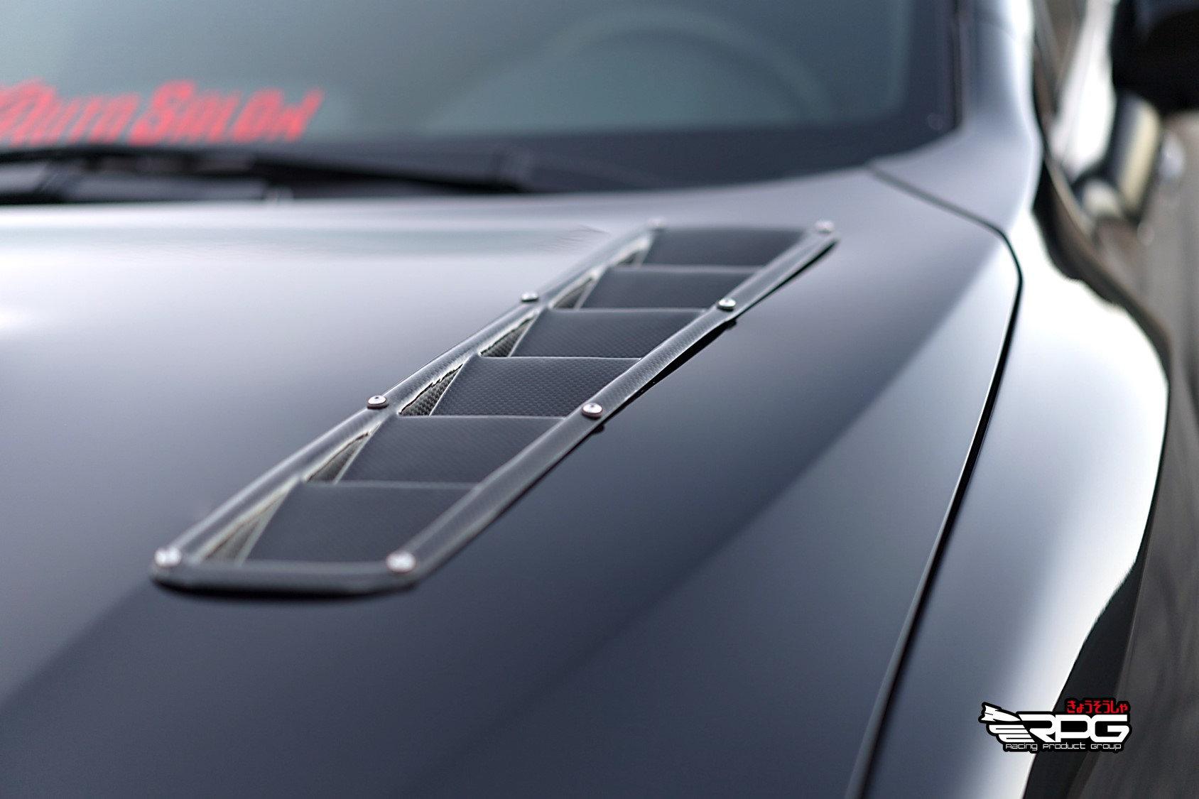 RPG RR Honeycomb Carbon Hood Vent for 02 03 04 05 06 07 Subaru Impreza WRX STi