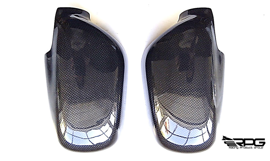 Vacuum Carbon Fiber Mirror Cover Set