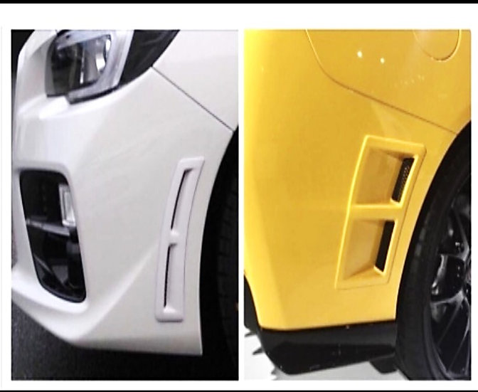 Speical Edition S207 Style Bumper Vent
