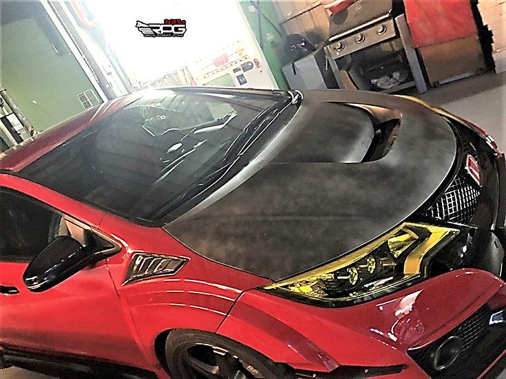 GTA Carbon Heat Extractor Hood Vent Scoop
