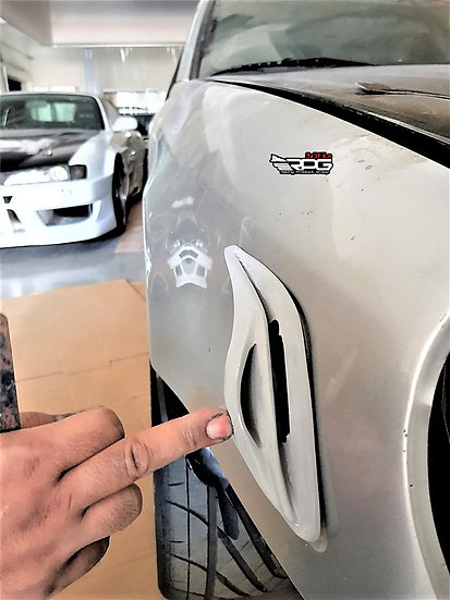 B2 Bomber Fender Marker Vents Air Scoop Duct