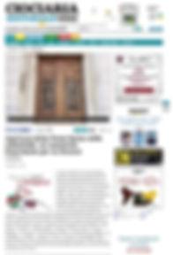 Dedicazione Porta Santa Cattedrale Santa Maria Assunta a Frosinone