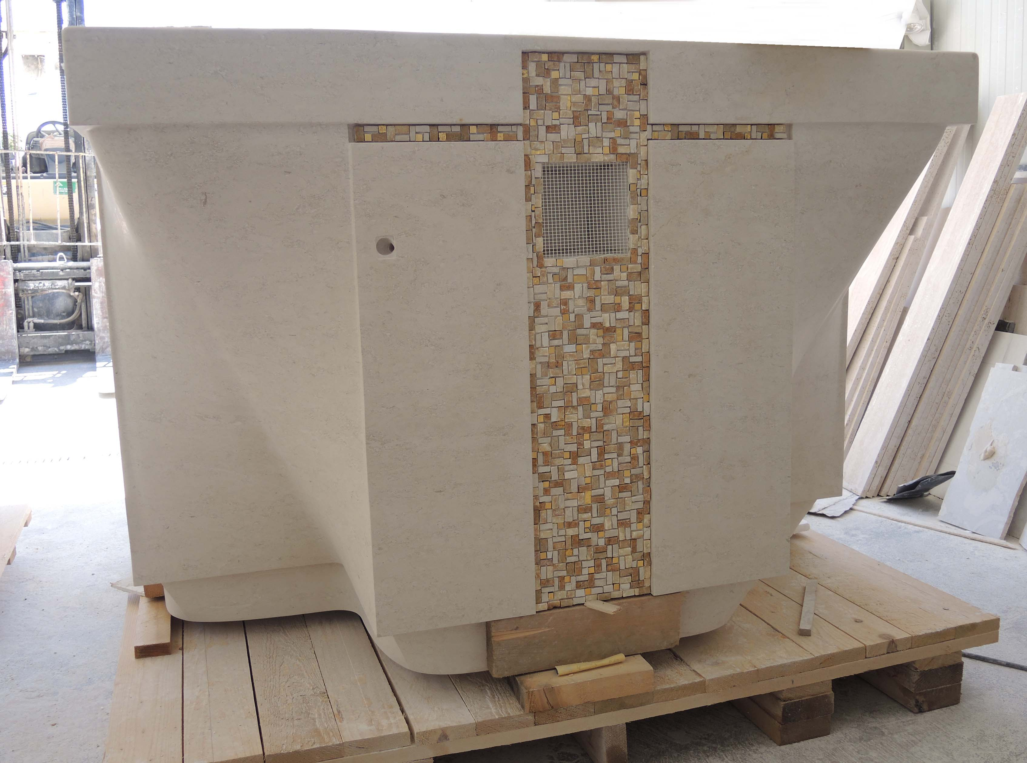 Applicazione del mosaico