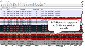 Detect TCP Resets