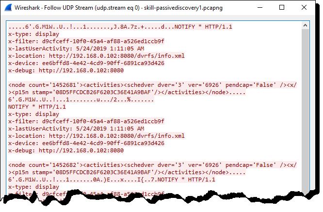 UDP Conversations