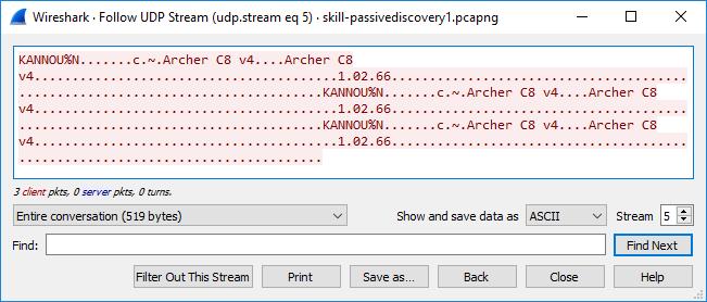 UDP Stream 5