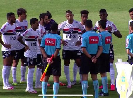 Jogo contra o Goiás adiado.