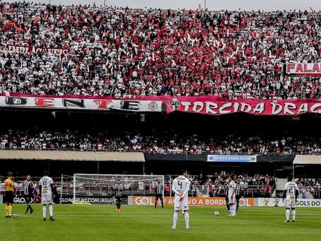 São Paulo anuncia crédito a torcedores que compraram ingressos de jogos não realizados.