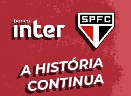 São Paulo e Banco Inter renovam patrocínio até dezembro de 2020.