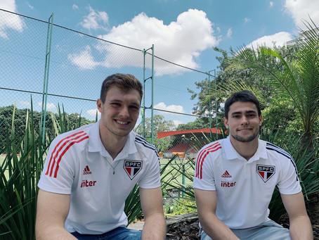 São Paulo renova os contratos dos goleiros Lucas Perri e Junior