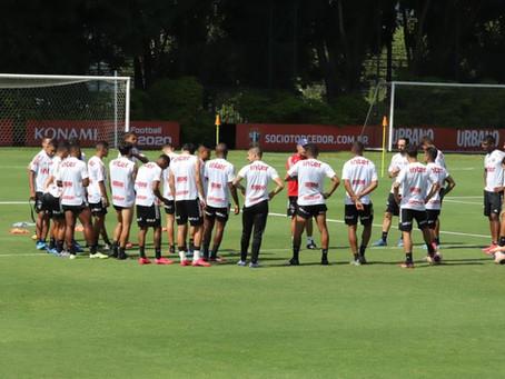 São Paulo com time reserva domingo