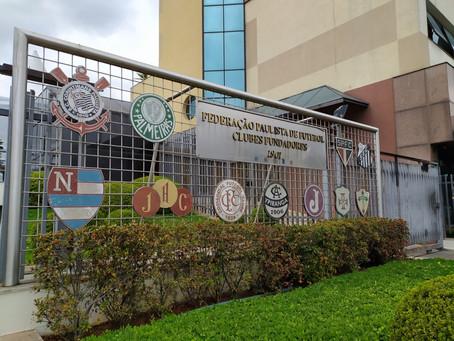 Em reunião, Federação Paulista e clubes decidem continuar sem data para retorno aos treinos.