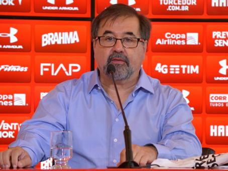 Marco Aurélio Cunha deixa a CBF.