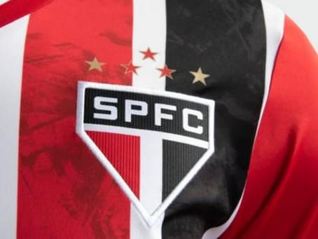 São Paulo lança nova camisa número 2.