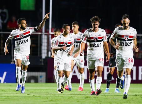 Tricolor finalmente estreia no Brasileiro.