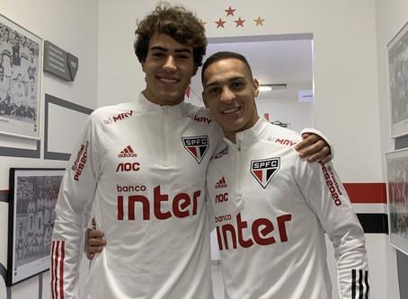 Igor Gomes e Antony treinam e reforçam São Paulo na semana do clássico contra o Corinthians