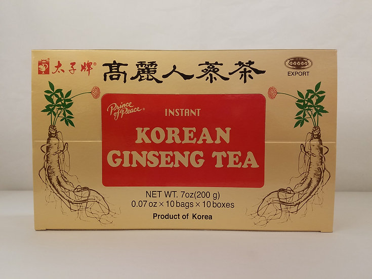 Instant Korean Ginseng Tea (100 Bags)