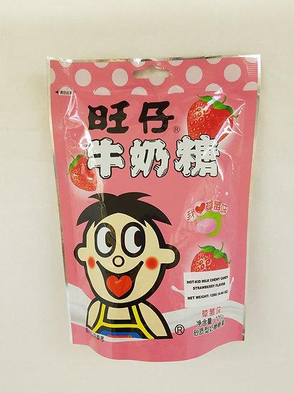 旺仔牛奶糖 草莓味