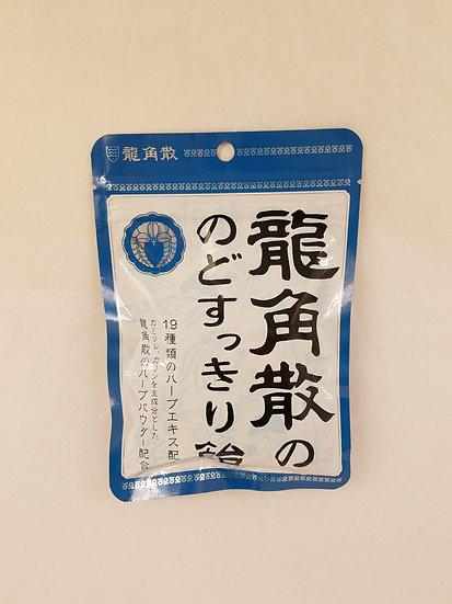 日本RYUKAKUSAN龍角散 特效潤喉糖 薄荷口味
