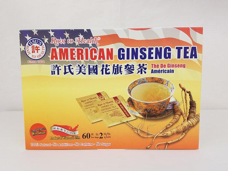 Hsu 's American Ginseng Tea (60 Tea Bags)