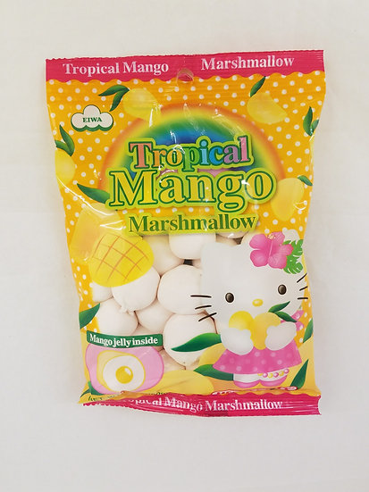 Tropical mango marshmallow