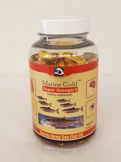 Marine Gold Deep Sea Fish Oil ( 200 )