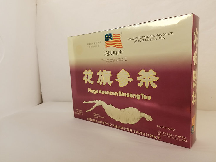 Instant Flag's American Ginseng Tea (48 Bags)