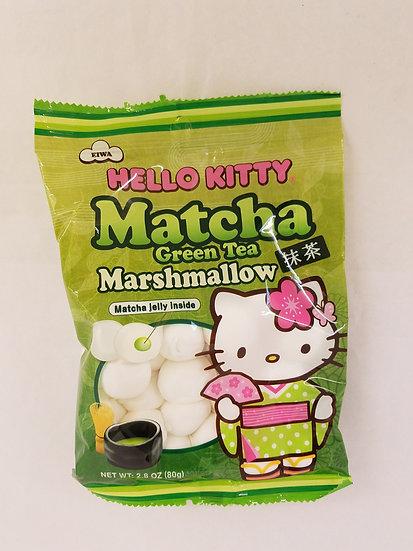 Matcha green tea marshmallow