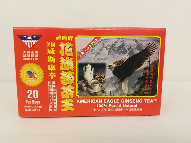 American Eagle Ginseng Tea (20 Bags)