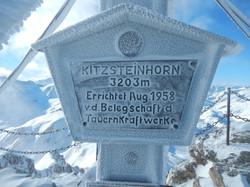 Am Kitzsteinhorn im Winter