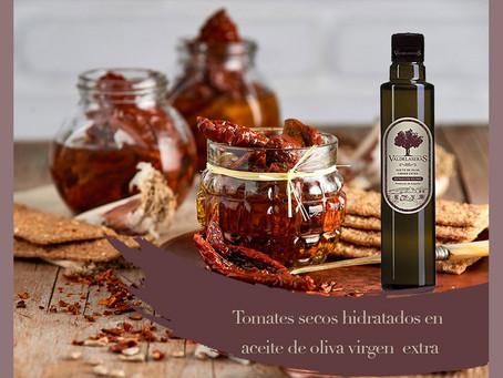 Tomates secos hidratados en aceite de oliva virgen extra
