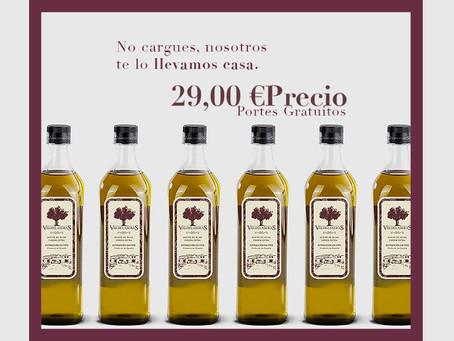 Comprar aceite virgen extra online