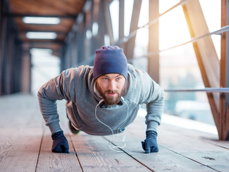 Benefícios de se exercitar nos tempos frios