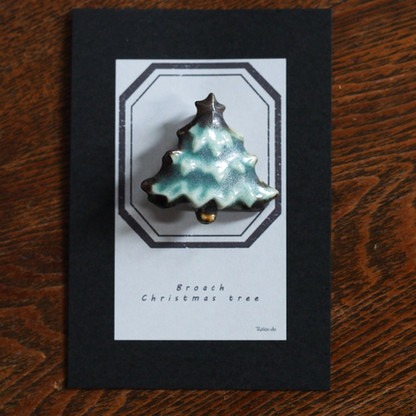 ブローチ / クリスマスツリー