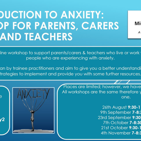 Parent/Carer Workshops