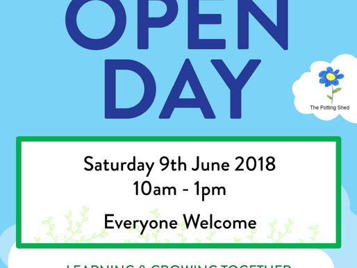 Potting Shed Spring Open Day