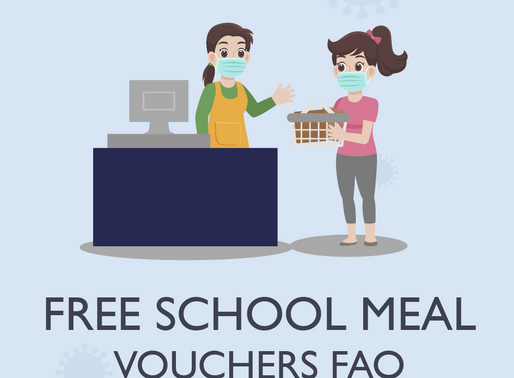 New Free School Meal Vouchers: FAQ