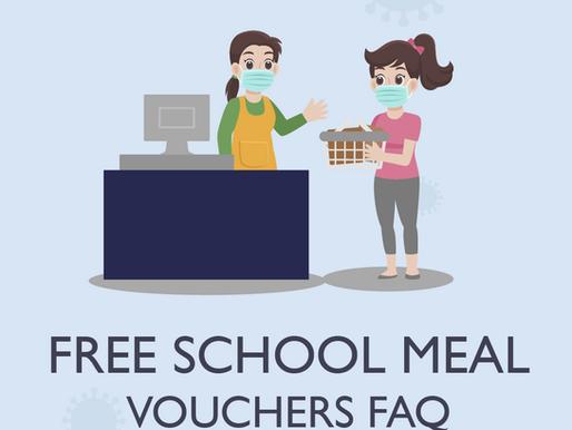 New Free School Meal Vouchers: FAQ