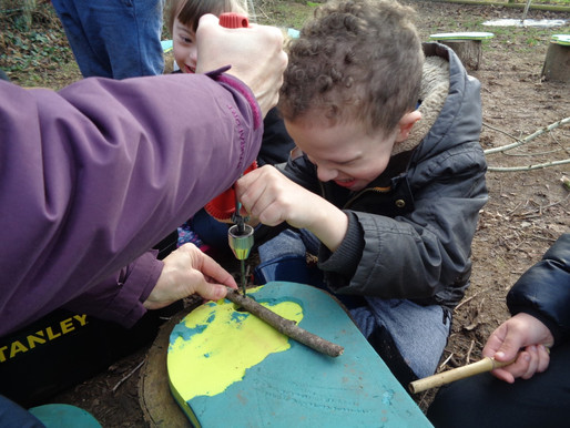 Forest School: Wind Clunks